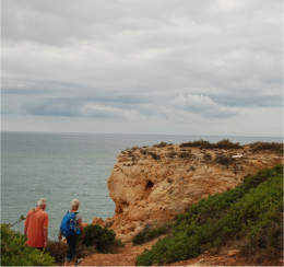 Algarve Coastal guided walk